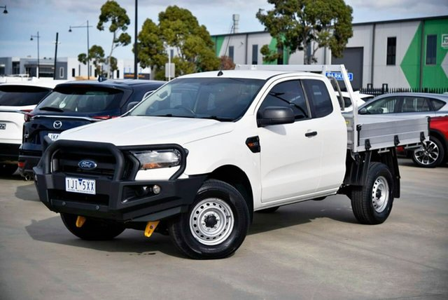 Used Ford Ranger PX MkII XL Pakenham, 2016 Ford Ranger PX MkII XL White 6 Speed Sports Automatic Cab Chassis
