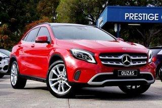 2019 Mercedes-Benz GLA-Class GLA180 DCT Urban Edition Red 7 Speed Sports Automatic Dual Clutch Wagon.