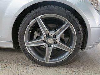 2010 Mercedes-Benz C-Class W204 MY10 C250 CGI Avantgarde Silver 5 Speed Sports Automatic Sedan
