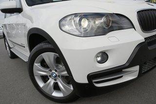 2009 BMW X5 E70 MY10 xDrive30d Steptronic Alpine White 6 Speed Sports Automatic Wagon.