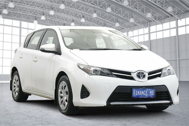 Used Toyota Corolla ZRE182R Ascent S-CVT Victoria Park, 2014 Toyota Corolla ZRE182R Ascent S-CVT White 7 Speed Constant Variable Hatchback