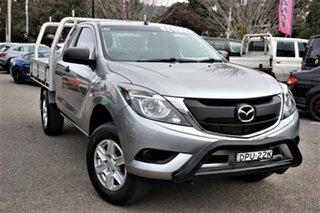 2017 Mazda BT-50 UR0YG1 XT Freestyle 4x2 Hi-Rider Grey 6 Speed Sports Automatic Cab Chassis.