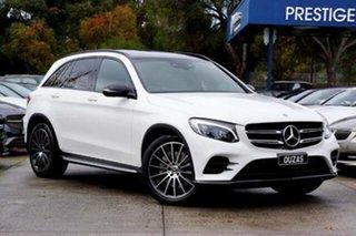 2018 Mercedes-Benz GLC-Class X253 808MY GLC220 d 9G-Tronic 4MATIC White 9 Speed Sports Automatic.