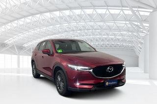 2018 Mazda CX-5 KF4W2A Maxx SKYACTIV-Drive i-ACTIV AWD Sport Soul Red 6 Speed Sports Automatic Wagon.