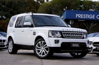 2016 Land Rover Discovery Series 4 L319 MY16.5 HSE White 8 Speed Sports Automatic Wagon