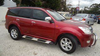 2010 Great Wall X240 CC6460KY Red 5 Speed Manual Wagon.