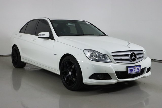 Used Mercedes-Benz C200 W204 MY11 BE Bentley, 2011 Mercedes-Benz C200 W204 MY11 BE White 7 Speed Automatic G-Tronic Sedan