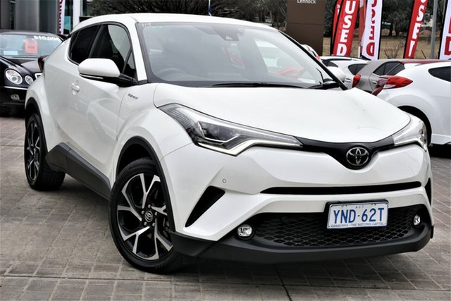 Used Toyota C-HR NGX50R Koba S-CVT AWD Phillip, 2019 Toyota C-HR NGX50R Koba S-CVT AWD White 7 Speed Constant Variable Wagon