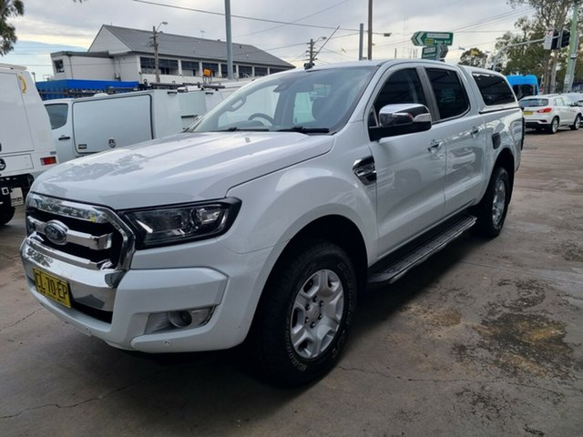 Used Ford Ranger PX MkII MY17 Update XLT 3.2 (4x4) Bankstown, 2017 Ford Ranger PX MkII MY17 Update XLT 3.2 (4x4) White 6 Speed Automatic Dual Cab Utility