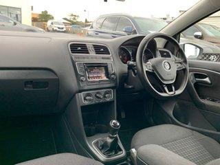 2015 Volkswagen Polo 6R 81TSI Comfortline Silver Manual Hatchback