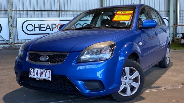 Used Kia Rio JB MY09 LX Rocklea, 2009 Kia Rio JB MY09 LX Blue 4 Speed Automatic Hatchback