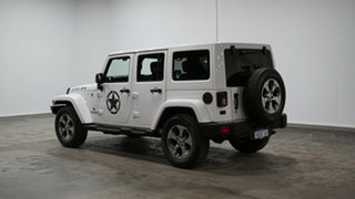 2017 Jeep Wrangler JK MY17 Unlimited Overland White 5 Speed Automatic Hardtop.