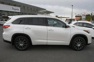2017 Toyota Kluger GSU55R Grande AWD Pearl White 8 Speed Sports Automatic Wagon.