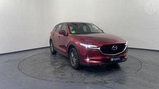2018 Mazda CX-5 KF4W2A Maxx SKYACTIV-Drive i-ACTIV AWD Sport Soul Red 6 Speed Sports Automatic Wagon