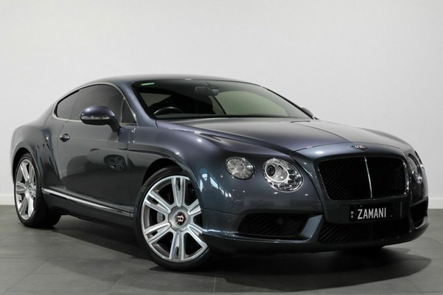 Used Bentley Continental 3W MY13 GT V8 Bayswater, 2013 Bentley Continental 3W MY13 GT V8 Grey 8 Speed Sports Automatic Coupe