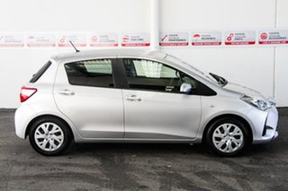 2018 Toyota Yaris NCP130R MY17 Ascent Silver Pearl 5 Speed Manual Hatchback