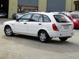 1999 Ford Laser KN LXI Alfa White 4 Speed Automatic Hatchback