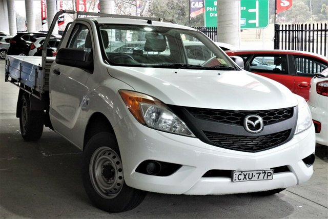Used Mazda BT-50 UP0YD1 XT 4x2 Phillip, 2015 Mazda BT-50 UP0YD1 XT 4x2 White 6 Speed Manual Cab Chassis