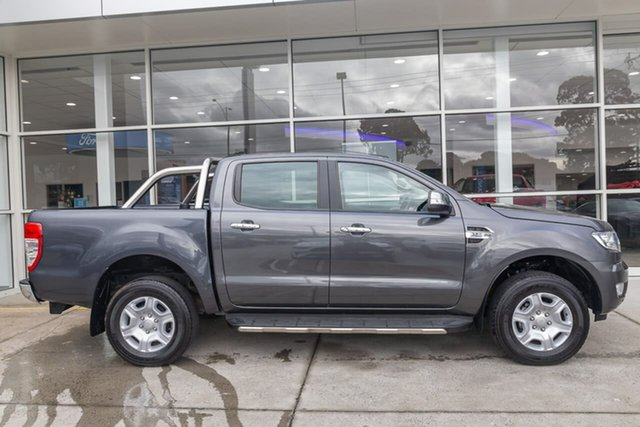 Used Ford Ranger PX MkII 2018.00MY XLT Double Cab Ferntree Gully, 2018 Ford Ranger PX MkII 2018.00MY XLT Double Cab Grey 6 Speed Manual Utility