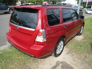 2006 Subaru Forester MY07 XS Red 5 Speed Manual Wagon