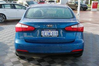 2013 Kia Cerato TD MY13 S Blue 6 Speed Sports Automatic Sedan.