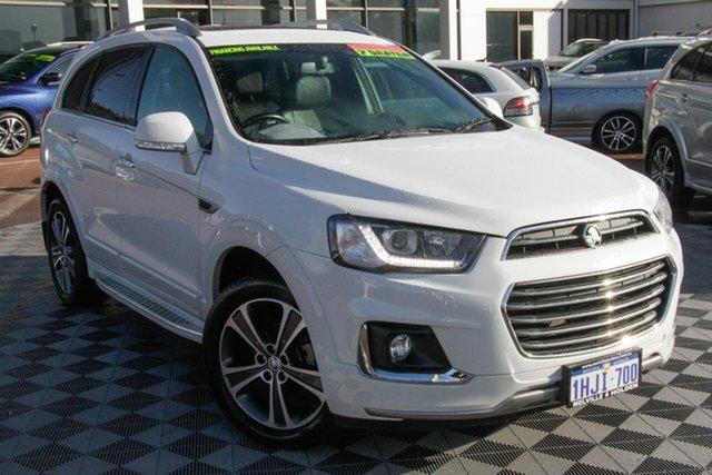 Used Holden Captiva CG MY18 LTZ AWD Attadale, 2018 Holden Captiva CG MY18 LTZ AWD White 6 Speed Sports Automatic Wagon