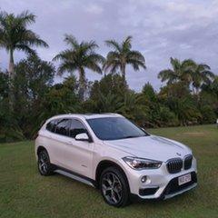 2015 BMW X1 F48 sDrive18d Steptronic White Pearl 8 Speed Sports Automatic Wagon.