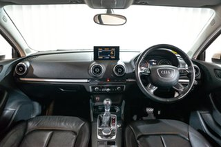 2015 Audi A3 8V MY15 Attraction S Tronic White 7 Speed Sports Automatic Dual Clutch Sedan