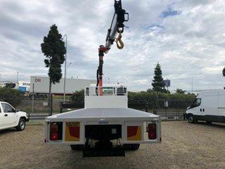 2012 Hino GT White Crane Tray