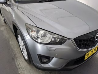 2012 Mazda CX-5 KE1021 Grand Touring SKYACTIV-Drive AWD Silver 6 Speed Sports Automatic Wagon.