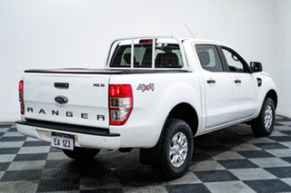 2018 Ford Ranger PX MkII 2018.00MY XLS Double Cab White 6 Speed Sports Automatic Utility