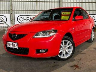 2007 Mazda 3 BK10F2 Maxx Sport Red 4 Speed Sports Automatic Sedan.
