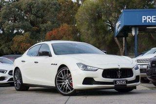 2017 Maserati Ghibli M157 MY17 Sport White 8 Speed Sports Automatic Sedan.