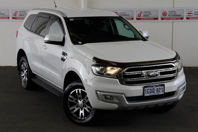 Pre-Owned Ford Everest UA MY17 Trend Rockingham, 2016 Ford Everest UA MY17 Trend 6 Speed Automatic SUV