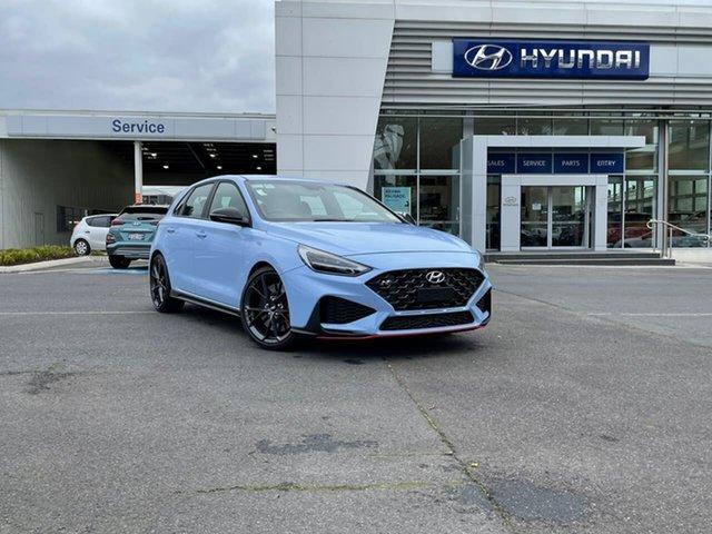 New Hyundai i30 Pde.v4 MY22 N South Melbourne, 2021 Hyundai i30 Pde.v4 MY22 N Performance Blue 6 Speed Manual Hatchback