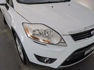 2012 Ford Kuga TE Titanium AWD White 5 Speed Sports Automatic Wagon.