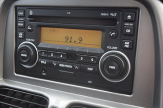 2013 Nissan Navara D22 S5 ST-R Arctic White 5 Speed Manual Utility