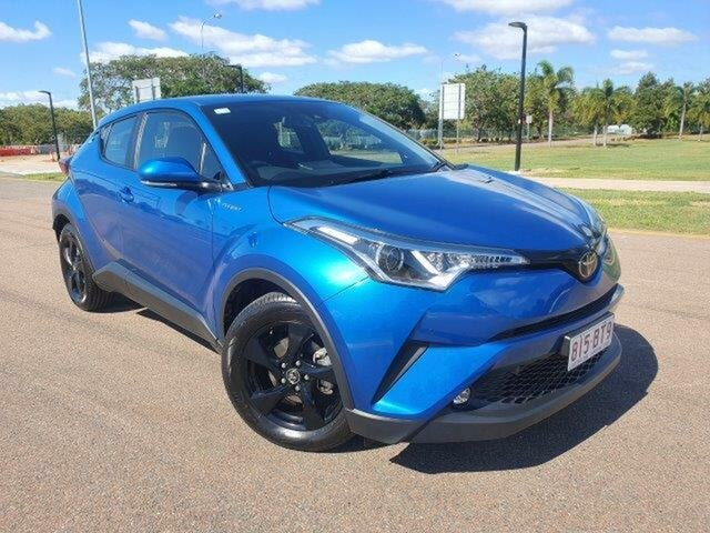 Used Toyota C-HR NGX50R S-CVT AWD Townsville, 2017 Toyota C-HR NGX50R S-CVT AWD Blue Streak 7 Speed Constant Variable Wagon