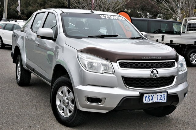 Used Holden Colorado RG MY16 LS-X Crew Cab Phillip, 2015 Holden Colorado RG MY16 LS-X Crew Cab Silver 6 Speed Sports Automatic Utility
