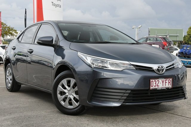 Pre-Owned Toyota Corolla ZRE172R Ascent S-CVT Albion, 2018 Toyota Corolla ZRE172R Ascent S-CVT Moonlight 7 Speed Constant Variable Sedan