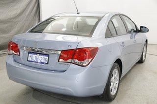 2010 Holden Cruze JG CD Blue 6 Speed Sports Automatic Sedan.