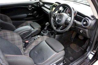 2017 Mini Hatch F56 Cooper Black 6 Speed Automatic Hatchback