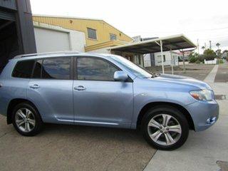 2009 Toyota Kluger GSU40R KX-S 2WD Blue 5 Speed Sports Automatic Wagon