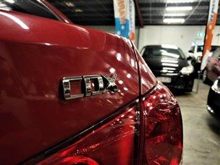 2011 Holden Cruze JG CDX Metallic Red 6 Speed Sports Automatic Sedan