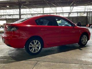 2007 Mazda 3 BK10F2 Maxx Sport Red 4 Speed Sports Automatic Sedan