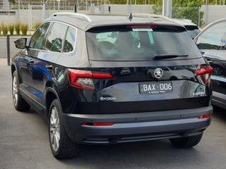 2019 Skoda Karoq NU MY19 110TSI DSG FWD Black 7 Speed Sports Automatic Dual Clutch Wagon.