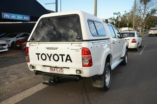 2012 Toyota Hilux KUN16R MY12 SR White 5 Speed Manual Dual Cab Pick-up.