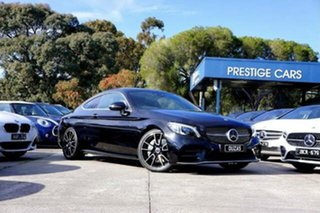 2018 Mercedes-Benz C-Class C205 809MY C300 9G-Tronic Black 9 Speed Sports Automatic Coupe