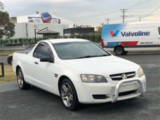 2010 Holden Ute VE Omega White 4 Speed Automatic Utility.