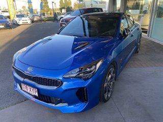 2018 Kia Stinger CK MY18 GT Fastback Blue 8 Speed Sports Automatic Sedan.